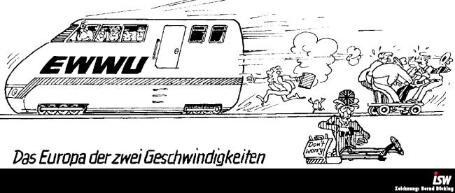 Zeichnung: Bernd Bücking, entnommen aus: isw report 29, S. 22