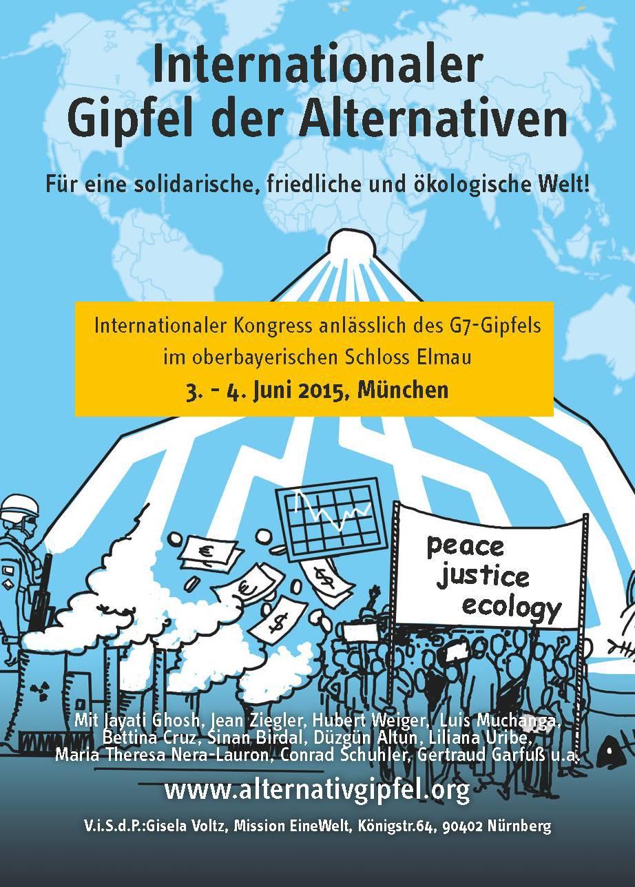 """isw auf dem internationalen """"Gipfel der Alternativen"""""""