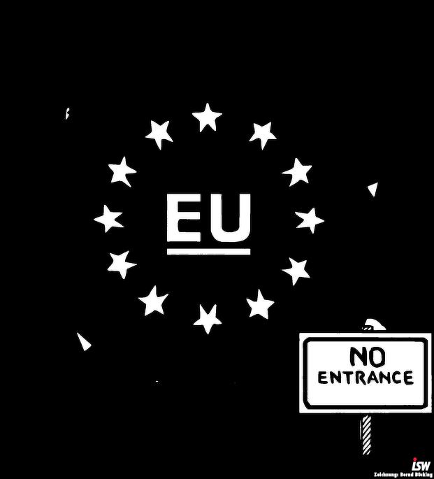 EU-Grenze-Stacheldraht [RE 104]