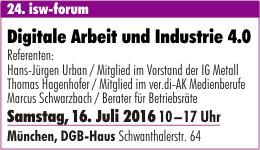 Digitale Arbeit und Industrie 4.0