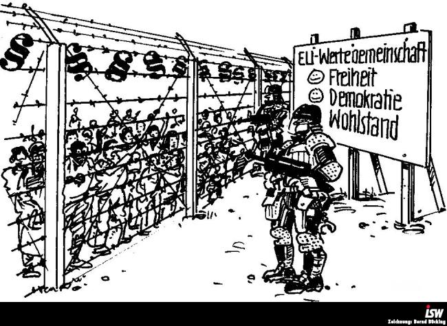 Der teuflische Pakt zwischen der EU und der Türkei. EU-Gipfel beschließt Massendeportationen von Flüchtlingen