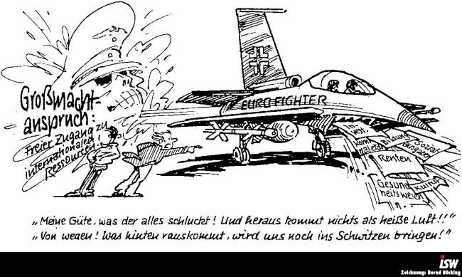 Zeichnung: Bernd Bücking. entnommen aus: spezial 13, S. 6