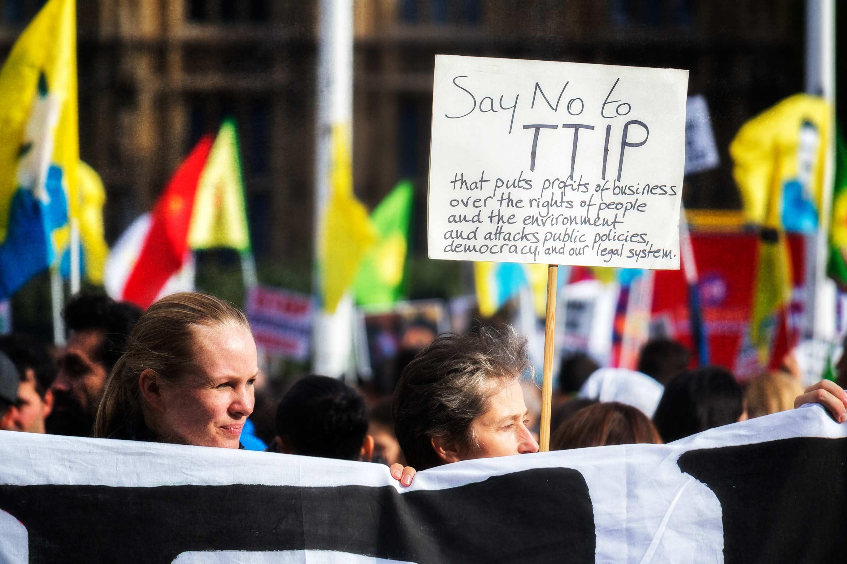 Der Kampf um TTIP & CETA in der Entscheidung. Die Abkommen können und müssen verhindert werden