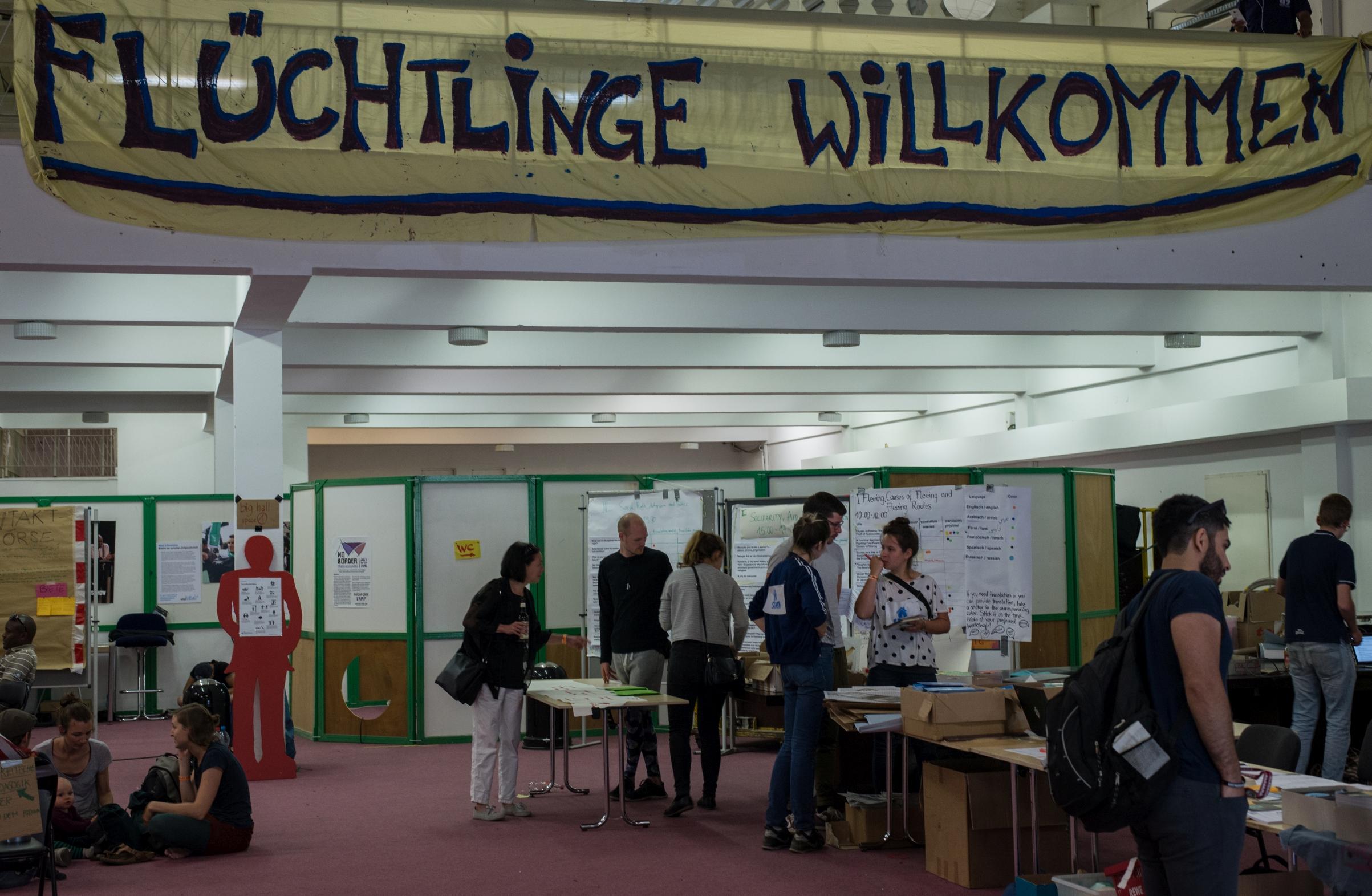 Konferenz der Solidarität mit Migranten