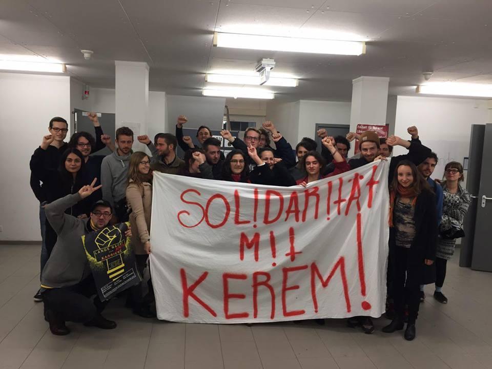 Trotz Masterarbeitsnote 1.0 Verweigerung der Promotionsassistenz? - Solidarität mit Kerem Schamberger!