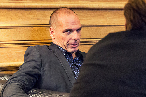 Yanis Varoufakis from Flickr