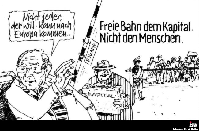 Zeichnung: Bernd Bücking.