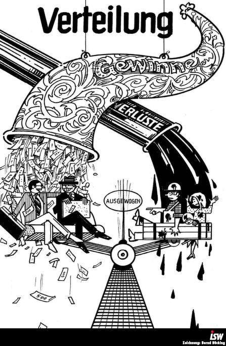 Zeichnung: Bernd Bücking. entnommen aus: wirtschaftsinfo 49, Seite 12