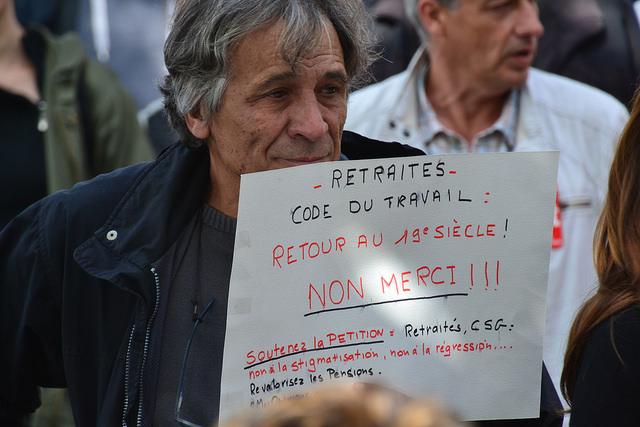 Frankreich: Gegenwehr zu Macrons Sozialabbau geht weiter