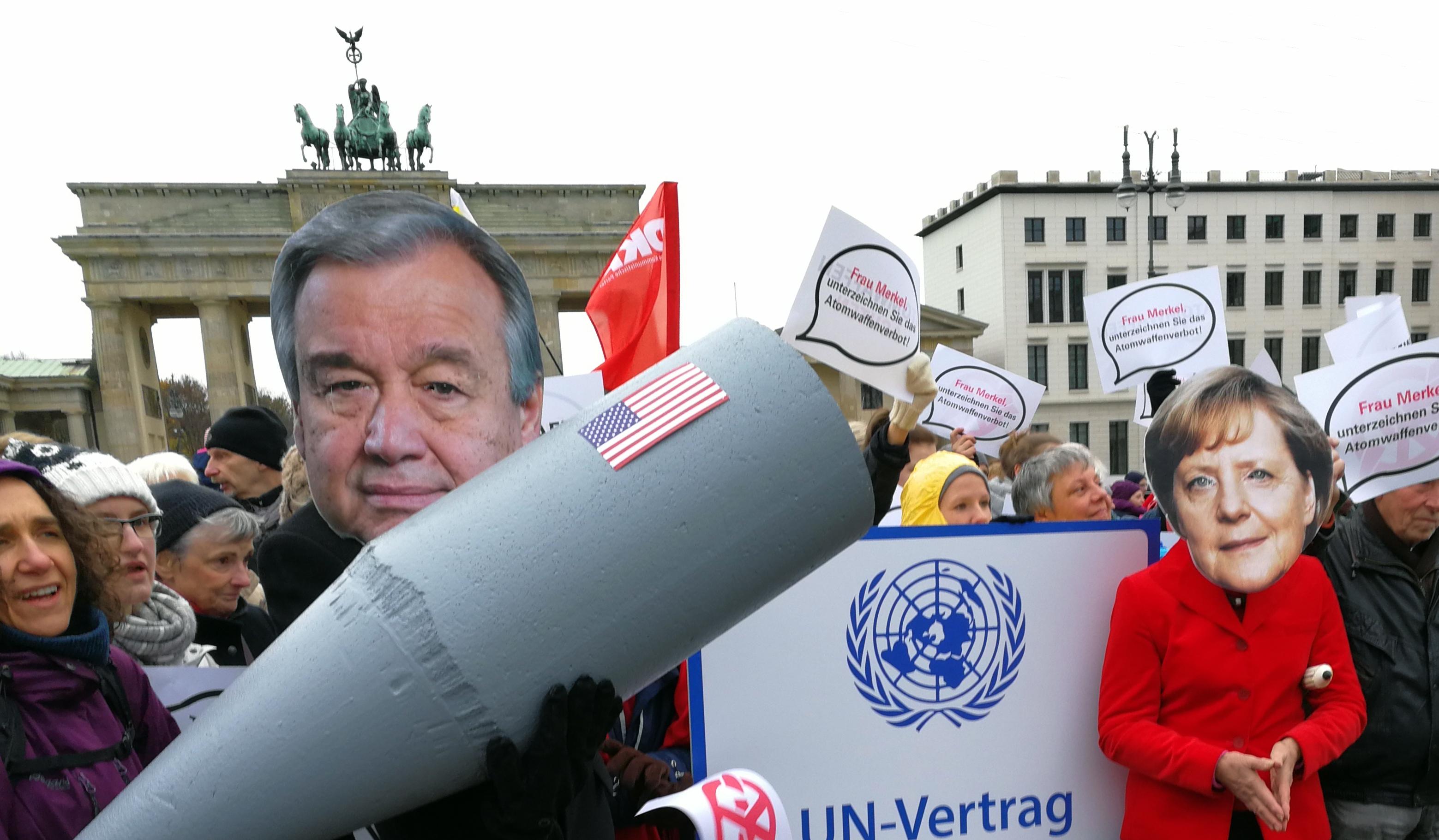 Über den Kampf für ein atomwaffenfreies Deutschland und gegen nukleare Aufrüstung