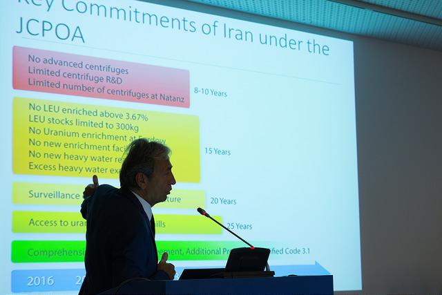 Kündigung des Atomabkommens – zur Eskalation der Gewalt im Nahen Osten