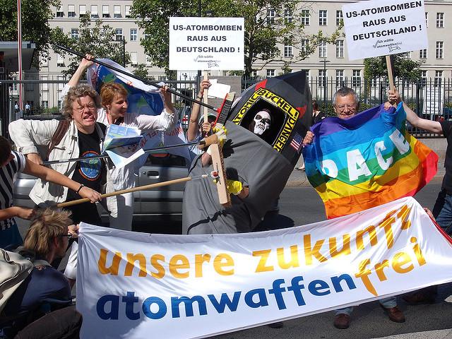 """""""Atomwaffen raus aus Deutschland"""" muss zentrale Forderung bleiben!"""