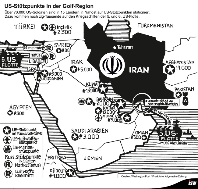 Factsheet: Pulverfass Nahost