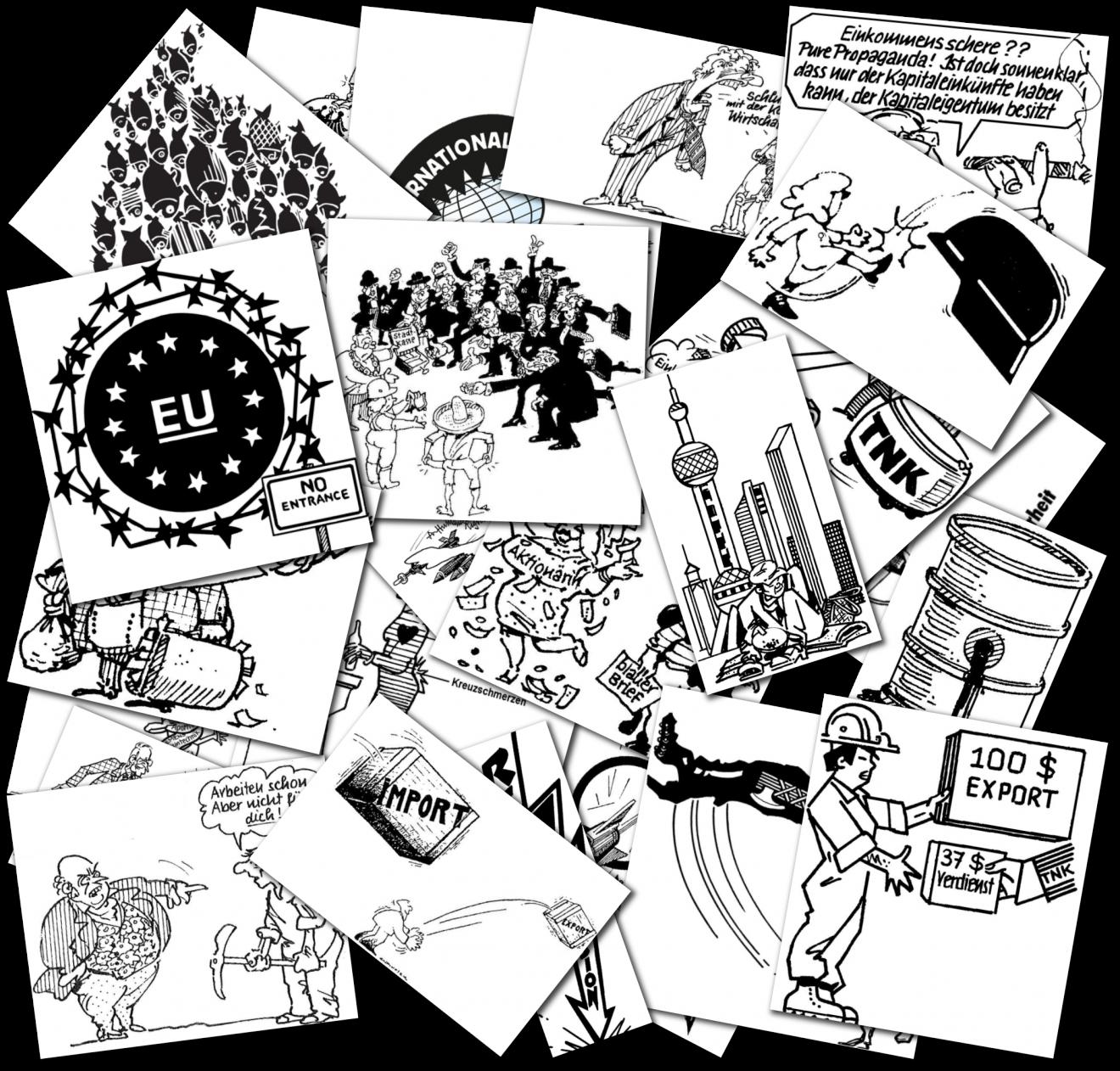 30 Jahre isw: Bei Karikaturen geht es um ein ideelles Dafürstehen