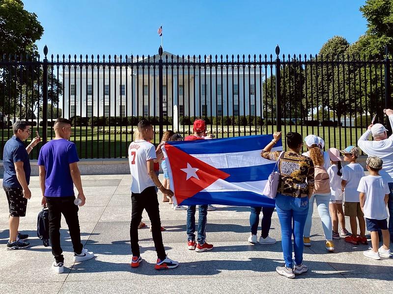 """Kuba: """"Natürlich gibt es viele aufgestaute Bedürfnisse und Widersprüche, aber Hass ist kein Bedürfnis und keine Notwendigkeit""""."""